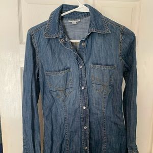 The cutest Denim shirt! Sz S